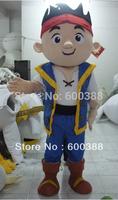 New costume adult plush jake neverland pirates mascot costume dora elmo barney doraemon kitty cartoon character costumes party