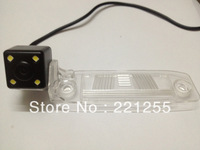 Free shipping kia Sportage  hd ccd+led car Waterproof camera