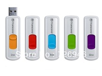 Free shipping! Transcend 2GB 4GB 8GB 16GB 32 GB 64GB JetFlash 530 Retractable USB Flash Drive