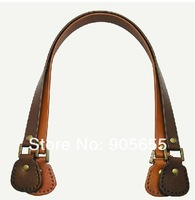 Free shipping 10pcs=5pairs/LOT wholesale Genuine Leather Bag Handle. DIY handmade handbag accessories Handle/Blet/strap Leather