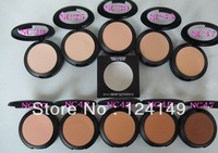 10pcs/lot New Arrival MINERALIZE POWDER 15G! 10 COLORS