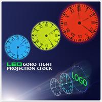 Projection clock second generation led projection clock belt remote control luminous living room wall clock