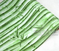 wholesale 2014 hot selling  pvc waterproof green turbolinux wallpaper 10 meters long  free shipping