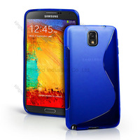 500pcs/Lot TPU S  Line GEL Case Cover for Samsung Galaxy Note III 3 N9000 N9005