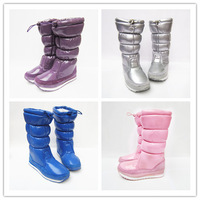 New arrival 2014 fur boots waterproof rainproof slip-resistant gaotong female japanned leather snow boots Women thermal
