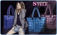 Free shipping winter season new design checker space bags for women   4362