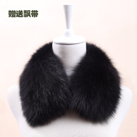Thickening fox fur collar general fox fur muffler scarf fur collar false collar collars