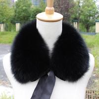 Fur fox  collar fox  female  muffler  thermal  collar son of false collar Fur Scarf