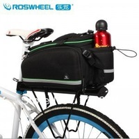 drop shipping bicycle pannier frame bag rear seat pack rear rack bag free shipping