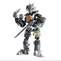 Decool Robot 3.0 Hero Factory Fight PVC 9605  21.5CM Inserted  DIY Building Blocks Classic Toy original packaging  toys
