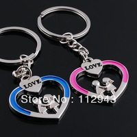 Keychain Metal Solid Personality Keychains Lovely Couple Keychain Creative Product Novelty Item Gift Funny jewelry