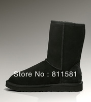 Top quality Australian boots for women 2013 free shipping, fashion women black winter snow boots china on sale 5825 2013