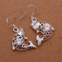 Free Shipping Wholesale 925 silver Earrings, 925 silver fashion jewelry 5mm Earrings /cclaktsatl E266