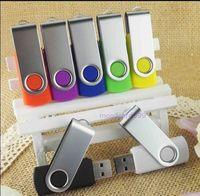 Free shipping  New Customized metal swivel usb 2.0 memory flash stick/drive+print company logo