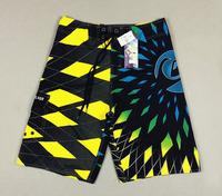 Retail spring 2014 new arrive male man gift popular board summer sport irregular grid trouser surf short swimming shorts for men