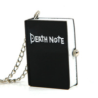 New style quartz fashion vintage retro nice new death note pocket necklace with chain watch #L05484