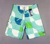 Retail spring 2014 male mans gifts popular board summer sport semicircle boardshorts surf shorts mens swim wear short trousers