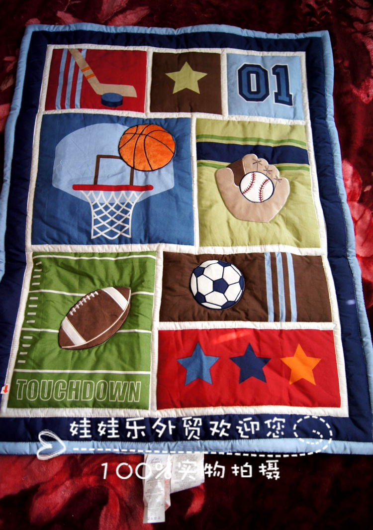 Quilt Patterns For Sports : Shop Popular Sports Quilt Patterns from China Aliexpress