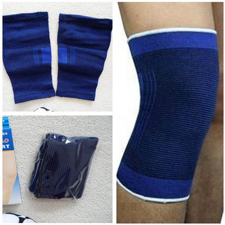 Hot Selling 1 Pair The Wicketkeeper Sports Kneepad Football Kneepad Volleyball Knee Pads HG-0513(China (Mainland))