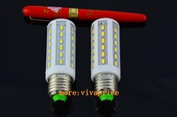 10pcs wholesale E27 5730 10W 42leds 220V AC cool white warm white corn led bulb Maize Lamp