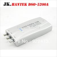 H046 Hantek DSO-5200A USB 200MHz 250MS/s 2CH PC USB Digital Storage Oscilloscope DSO5200A 10K-512KB/Channel