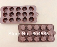 Silicone Chocolate Flower Mold Mould-Chocolate