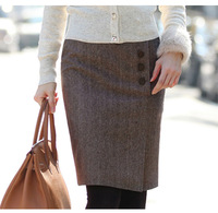 2014 New Korean Version Of The Suit Career Short Skirts Rendering Package Hip Skirt   B509