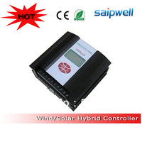 Low shipping High-power PWM 12v 24v ac dc hybrid solar charge controller from Saip/Saipwell
