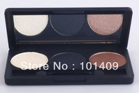 Free Shipping New 3 Color Smoky Eye shadow Palette/Beauty Tools/Cosmetics