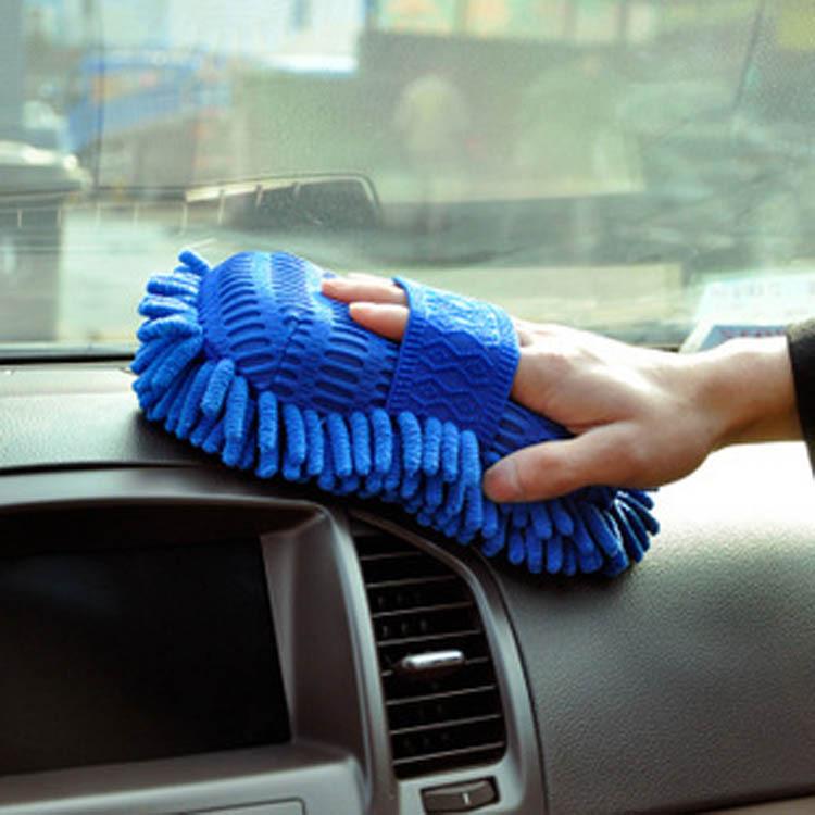 Hot New Ultrafine Fiber Chenille Anthozoan Car Wash Gloves Car Washer Supplies HG-0512(China (Mainland))