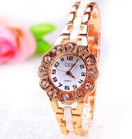 2015 new  free shipping Brand Rhinestone Crystal Fashion bracelet watch gifts awarded casual fashion lady girl watches LW138