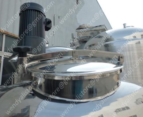 Stainless steel YAB manhole /AISI304 tank manhole cover/600mm round manhole door(China (Mainland))