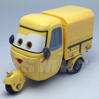 Car toys for children,Mazini,Yellow trike,100% Original Pixar Cars 2 Movies alloy model cars for kids,free shipping,CAR50