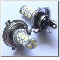 Free Shipping Fog Head light H4 LED Bulb 18 SMD 5050 12V White Car Daytime Driving Auto Lamp Fog Beam Light