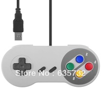 Retro for SNES USB Wired Corded Classic Controller GamePad for Windows PC Color