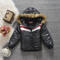 Ac41 children's clothing 2013 winter fashion wool thermal wadded jacket cotton-padded jacket