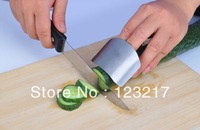 Finger Guard Protector Kitchen Knife Chop Helper  Stainless steel fashion small tools armfuls proctectors  Free Shipping