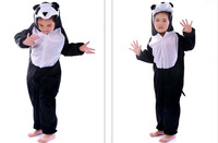 2013 Anime Animal Children's Cartoon   panda  Kigurumi Kids in  Velboa Onesie Pajamas Sleepwear