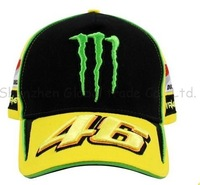 Free shipping 2013 New Arrivals ducati fans Vr46 embroidery black F1 racing car motorcycle 100% cotton baseball sports hat cap