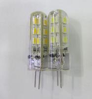 20pcs G4 1.5W 24 SMD 3014 Led Bulbs Chandelier Crystallights DC 12V Non-polar Warm White /Cool White #1277