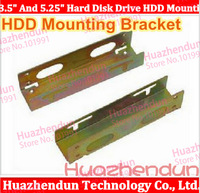 "Free Shipping&Tracking 3.5"" And 5.25"" Hard Disk Drive HDD Mounting Bracket 5Pair/LOT"