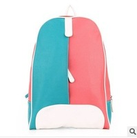 New Hots Korean Style Girl's PU Leather Backpack Hotsale New wholesale price Q551 dropship