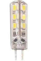 10pcs G4 LED Bulb Lamp 1.5W  3014 SMD 24 LED Light Bulb Whie / Warm White DC12V LED Lighting