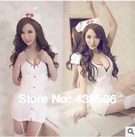 1set Hot-sale women Sexy Costumes Exotic Apparel Sexy Nurse lingerie cosplay erotic costumes #1110