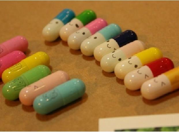 Pill capsule lucky bottle wishing bottle letter pad letter paper 15 ...