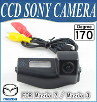 SONY CCD  Car Rear View Backup Camera for Mazda 2 / Mazda 3 free shipping night vision