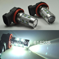 2pcs CREE& Osram 50W H8 H9 H10 H11 H16, 9005 9006 PY24W  P13W socket LED Fog Light 12V 24V car DRL light lamp bulb car lighting