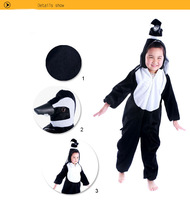 Lovely Kids Unisex Children Kigurumi Pajamas Anime Cosplay Costume Onesie  penguin