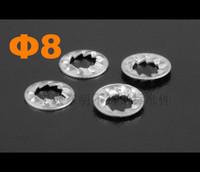 M8 Stainless steel Internal serrated locking washer DIN6798 DIN6798J