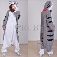 Cheese Cat Cartoon Animal Onesies Onesie Adult Unisex Kigurumi Cosplay Costumes Women Pyjamas Pajamas
